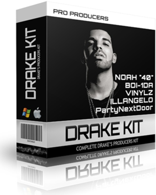 Product picture Drake Producers Kit - One shots, Samples, Loops, sf2 (2015)
