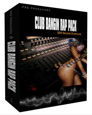Product picture Club Bangin Rap Pack - 4 ALL RAP STYLES